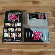Super Famicom SNES Pro Mahjong Kiwame Game Complete With Manual Good Condition