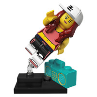 Lego Minifigures Series 20 * BreakDancer #2/16*  71027 Limited Edition.