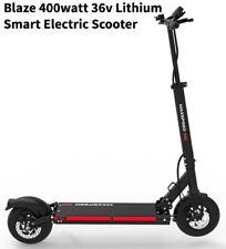 Blaze 400 watt 36v Lithium Smart Electric Scooter. Super lightweight. 22+ mph