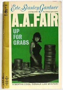 ERLE STANLEY GARDNER (as A. A. FAIR)—UP FOR GRABS—Pocket Book 1st printing—1964
