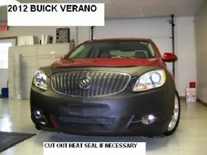 Car Mask Bra Buick Enclave 2013-2017 Lebra 2 piece Front End Cover Black Fits