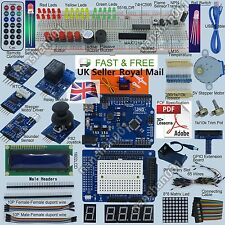 New Ultimate UNO R3 Starter Kit for Arduino 1602LCD Servo Motor RTC UKShipping