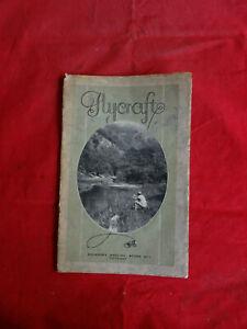 VINTAGE MILWARD'S FLYCRAFT FISHING BOOKLET CIRCA 1930