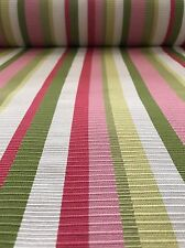 Venetian Pink Stripe Fabric BY THE YARD File