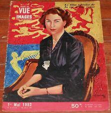 POINT DE VUE Images du Monde 1952 Queen Elizabeth II England vintage magazine