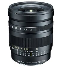 Tokina Firin 20mm F/2.0 FE MF Milc Nero