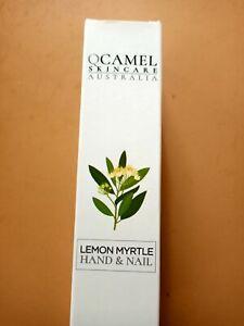 Camel Milk Skin Hand And Nail Care QCamel Lemon Myrtle Organic Essential Oils