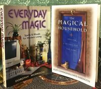 2 WICCAN SC'S *1) EVERYDAY MAGIC **2) THE MAGICAL HOUSEHOLD ** MAGICK ** OCCULT