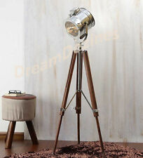 Lampada CASA DECORATIVO VINTAGE DESIGN Treppiede Illuminazione Searchlight Luce Spot