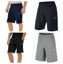 5466eb715d16 Nike Crusader Mens Shorts Fleece Casual Zip Pockets Training Gym Cotton  Sports