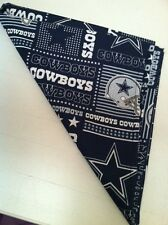 NFL Dallas Cowboys Bandana Blue Fabric Handmade