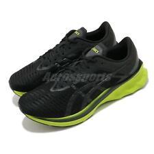 Asics Novablast Black Lime Zest Grey Men Running Shoes Sneakers 1011A681-003