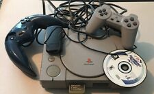 SONY PLAY STATION game console model # SCPH-5501 GREY VINTAGE