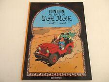 BD Les Aventures de Tintin - TINTIN AU PAYS DE L'OR NOIR - Hergé Casterman