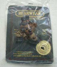 """1995 Boyds Bear Bearwear Uncle Elliot.The Head Bean Wants You!"""" Pin"""
