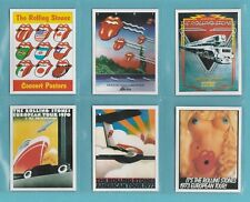 SPORTING PROFILES - SET OF L13  ROLLING STONES CONCERT POSTERS  CARDS  -  2006