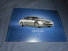 2008 Mercedes Benz CLS C Class USA Market Huge Color Catalog Brochure Prospekt