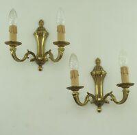 Antik Empire Stil Wandlampen Messing Leuchte Brass Double Wall Led Lights Vtg