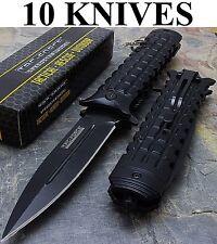 "8.5"" TAC FORCE DAGGER STYLE SPRING ASSISTED FOLDING KNIFE Pocket Wholesale Lot"
