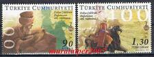 TURKEY 2011 400TH ANNIVERSARY OF EVLIYA CELEBI'S BIRTH MNH