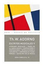 ESCRITOS MUSICALES V. NUEVO. Nacional URGENTE/Internac. económico. MUSICA