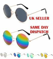 EYED Classic Retro Round Design Womens Mens Metal Sunglasses 100%UV400 12006