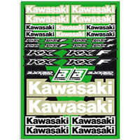 Blackbird Racing NEW Mx Kawasaki KX KXF Motocross Dirt Bike Decal Sticker Sheet