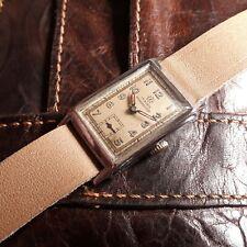 Gents JUNGHANS STOSSGESCHUTZT - German Military Wrist Watch no DH WW II 2 1940s