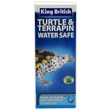 King British Turtle & Terrapin Water Safe 100ml Tap Dechlorinator Amphibian