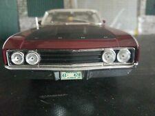 1:18 Scale 1969 Ford Torino Talladega  Maisto Deep Burgundy Color
