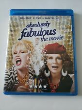 Absolutely Fabulous The Movie (Blu-ray/Dvd,2016)