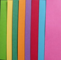 A4 CARD  - PACK OF 40 SHEETS ASSORTED BRIGHT COLOURS
