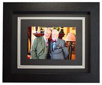 Derek Jacobi Signed 10x8 Framed Photo Autograph Display Vicious TV AFTAL COA