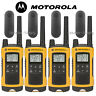 4 Pack Set Talkabout T402 Walkie Talkie 35 Mile Two Way Radio Waterproof