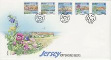 GB Stamps First Day Cover Jersey Offshore Reefs, flora, conservation, sea 2003