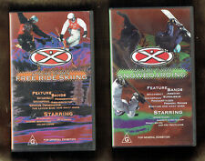 #PP. TWO  VHS VIDEOS - EXTREME GAMES SKIING and SNOWBOARDING