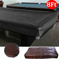 Pool Table Cover Billiard Table Cover Large 8ft Snooker Dustproof Waterproof New