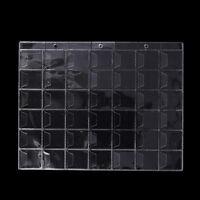 10 Pages 42 Poches En Plastique Porte-monnaie Collection De Collection Album RZ