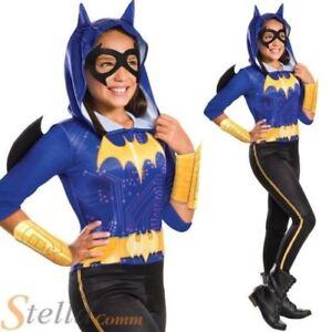 filles Batgirl Déguisement Batman Super Héros enfant costume halloween