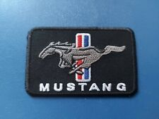 Ford Mustang Sew / Iron On Patch (b) Motorsports Rally Car Racing Badge