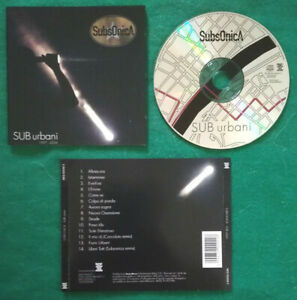 CD Subsonica SUB Urbani 1997-2004 Austria Electronic Rock no lp mc dvd vhs (IT2)