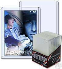 (50) Thick Card Protectors - Toploads 2mm 79 pt +BONUS!  BCW  Toploaders