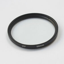 3 Packs Ultra 58mm UV Filter Lens for Canon,Nikon,Sony,Olympus,Panasonic Black