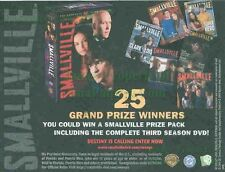 Smallville: Grand Prize: 3rd Season Dvd: Great Original Photo Print Ad!