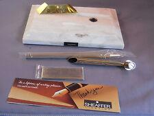 Sheaffer SIngle White Dot Ball Pen Desk Set-NEW OLD STOCK--NR4G