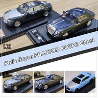 1:64 Rolls Royce Phantom Coupe ,Ghost,Ghost Extended Wheelbase Diecast Car Model