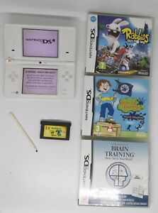 Nintendo DSI White Console, with Games Bundle