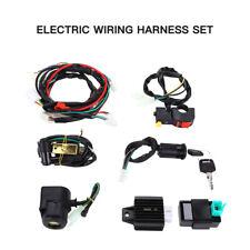 Wiring Harness Loom Ignition Key CDI For 50cc 110cc 125cc ATV Dirt Bike Quad PIT
