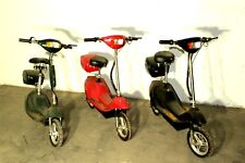3x lot Electric scooters pick up in Dayton Ohio with extra motors not shown
