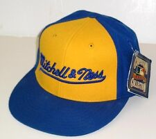 MLB Mitchell & Ness - Cooperstown Collection Blue & Yellow Sports Cap-sz 7